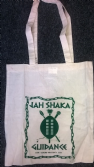 "Jah Shaka ""Guidance"" Tote Bag (Green Print)"